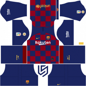 F C  Barcelona Nike Kits 2019 -20 For Dream League Soccer 2019