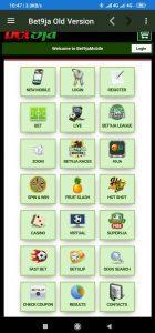 Old Bet9ja Mobile App Apk